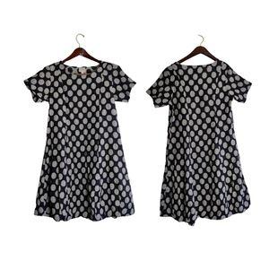 Spirittiouse Polka Silk Dress